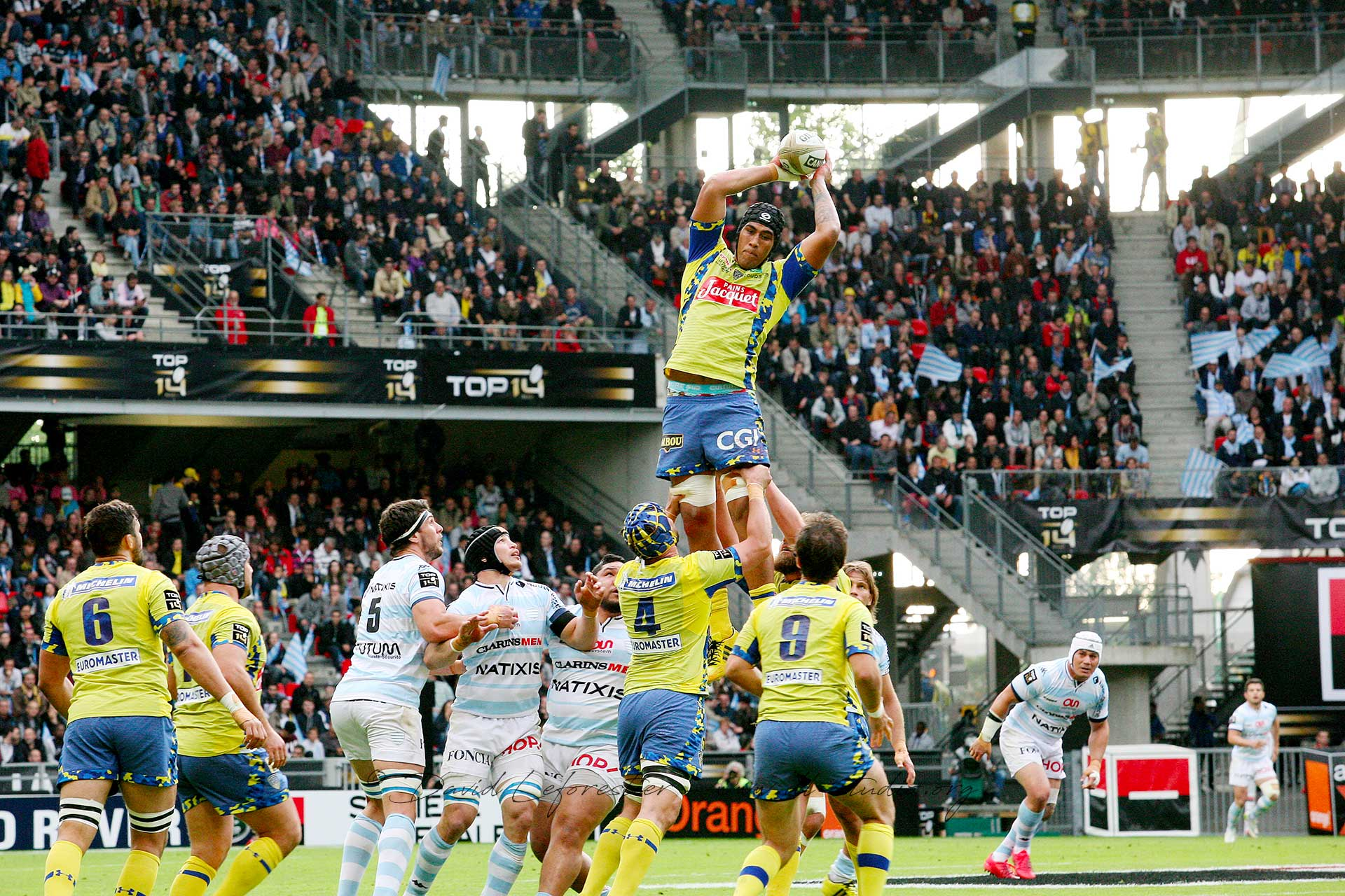 RUGBY TOP 14 : DEMI-FINALE (CLERMONT vs. RACING 92)